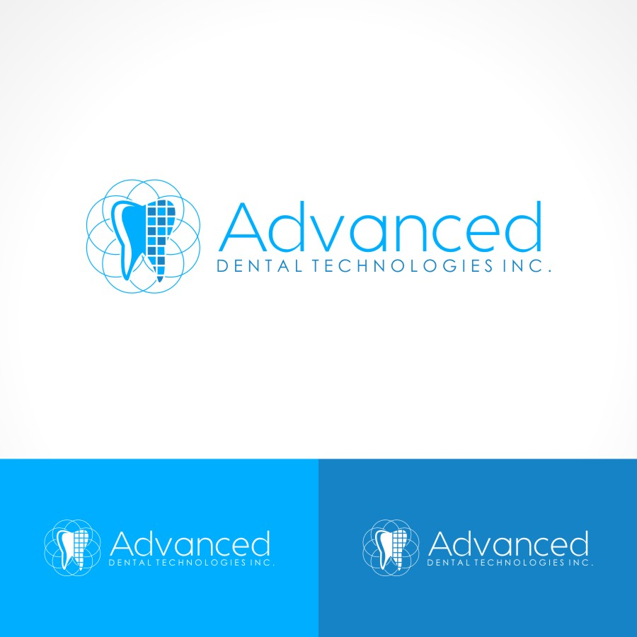 Logo Design by Private User - Entry No. 132 in the Logo Design Contest Fun Logo Design for Advanced Dental Technologies Inc..
