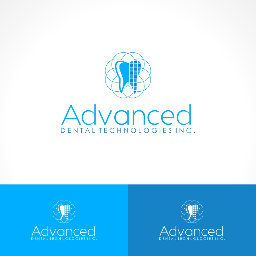 Logo Design by Private User - Entry No. 133 in the Logo Design Contest Fun Logo Design for Advanced Dental Technologies Inc..