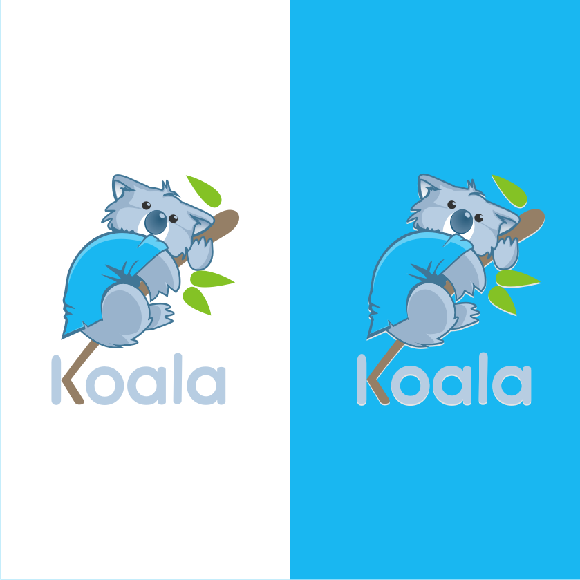 "Logo Design by graphicleaf - Entry No. 42 in the Logo Design Contest Imaginative Logo Design for ""Koala""."