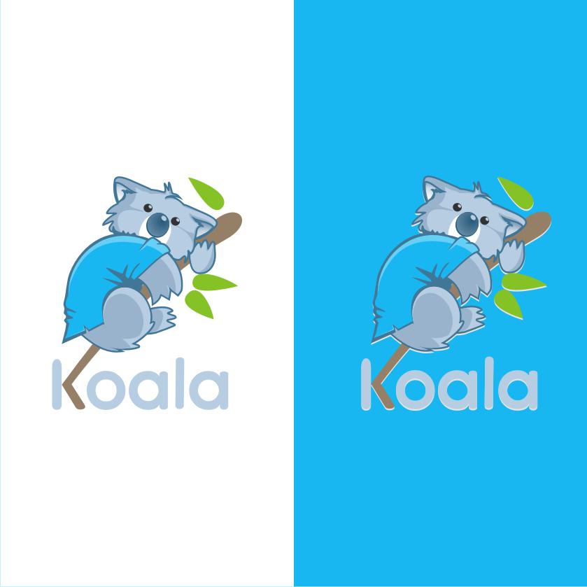 "Logo Design by Muhammad Nasrul chasib - Entry No. 42 in the Logo Design Contest Imaginative Logo Design for ""Koala""."