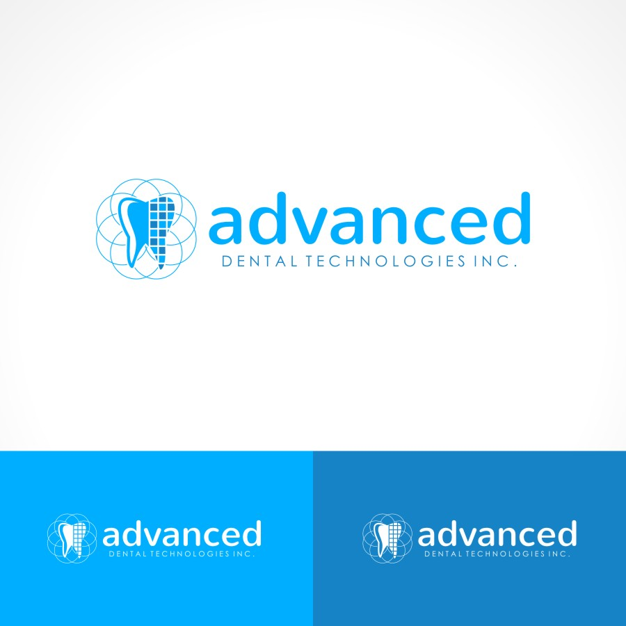 Logo Design by Private User - Entry No. 134 in the Logo Design Contest Fun Logo Design for Advanced Dental Technologies Inc..