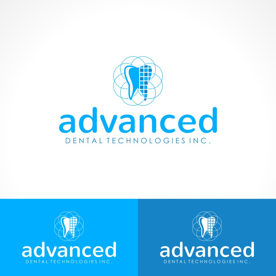 Logo Design by Private User - Entry No. 135 in the Logo Design Contest Fun Logo Design for Advanced Dental Technologies Inc..