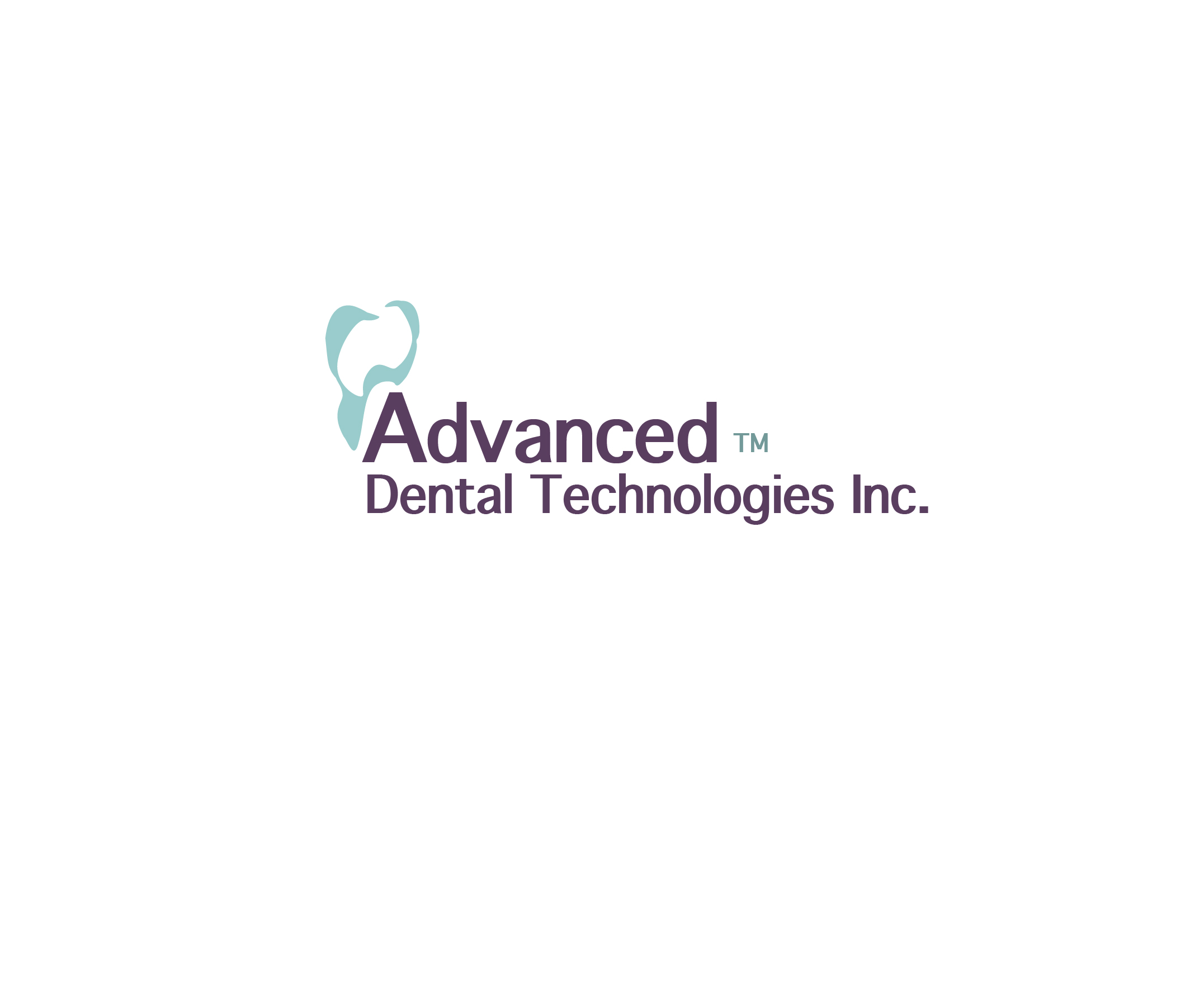 Logo Design by Nancy Grant - Entry No. 136 in the Logo Design Contest Fun Logo Design for Advanced Dental Technologies Inc..