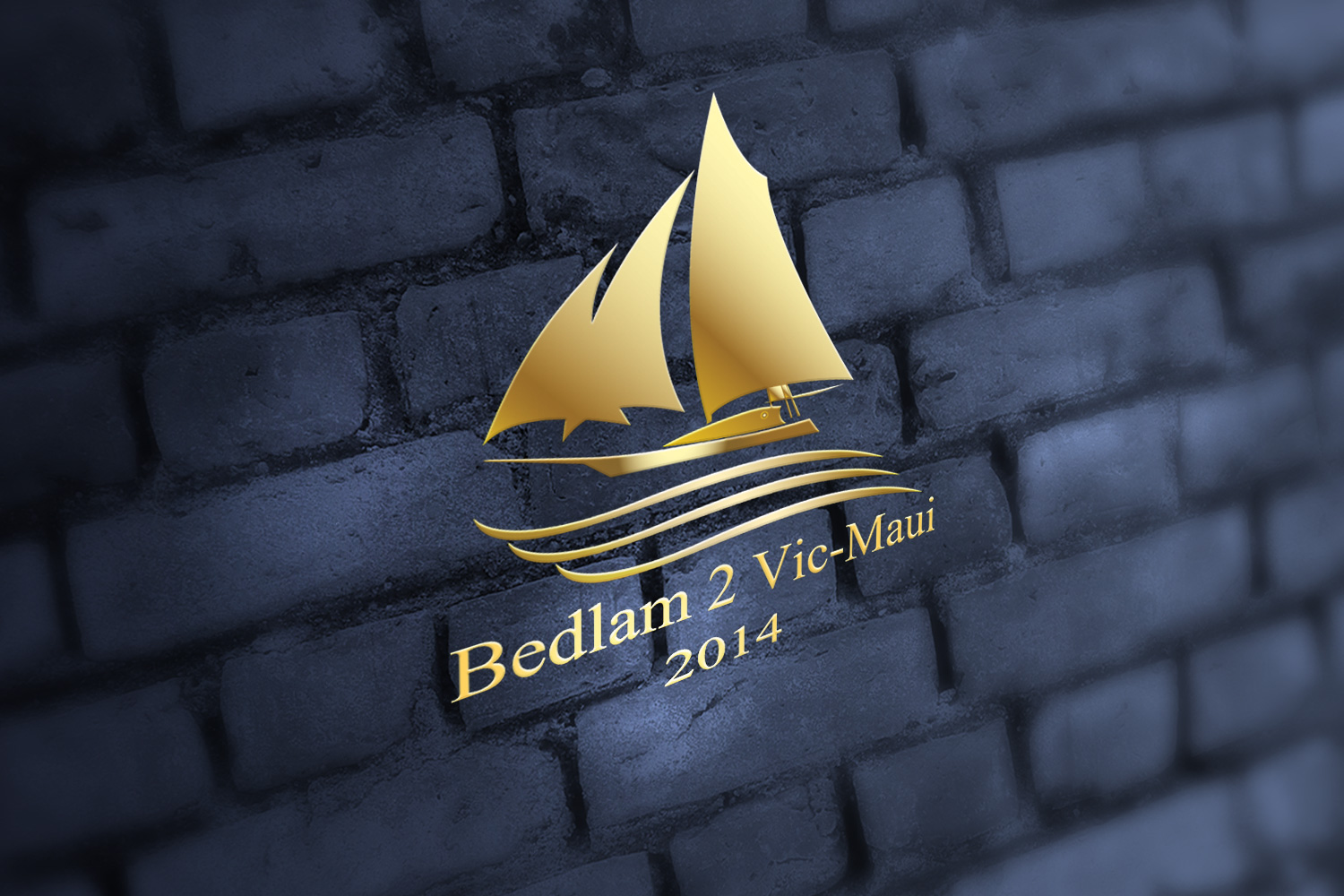 Logo Design by Adnan Younus - Entry No. 23 in the Logo Design Contest Artistic Logo Design for Bedlam 2  Vic-Maui 2014.