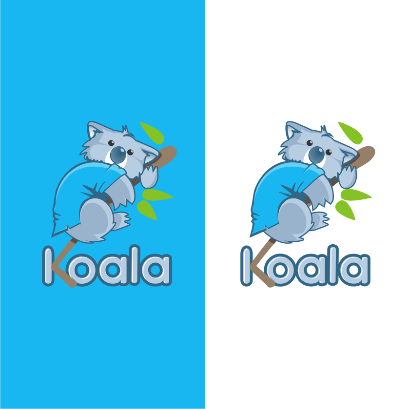 "Logo Design by graphicleaf - Entry No. 43 in the Logo Design Contest Imaginative Logo Design for ""Koala""."