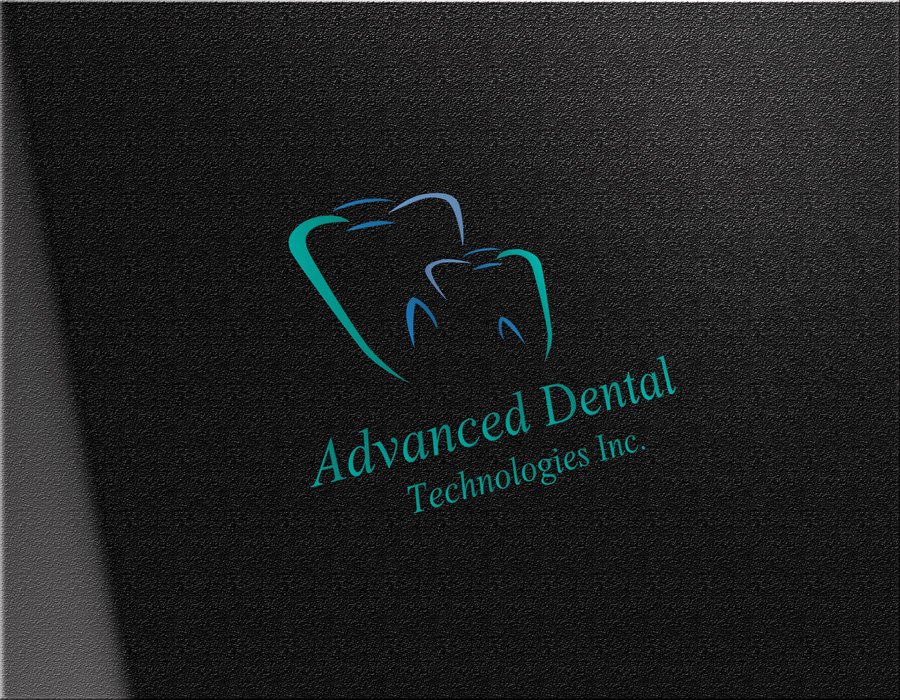 Logo Design by Adnan Younus - Entry No. 139 in the Logo Design Contest Fun Logo Design for Advanced Dental Technologies Inc..