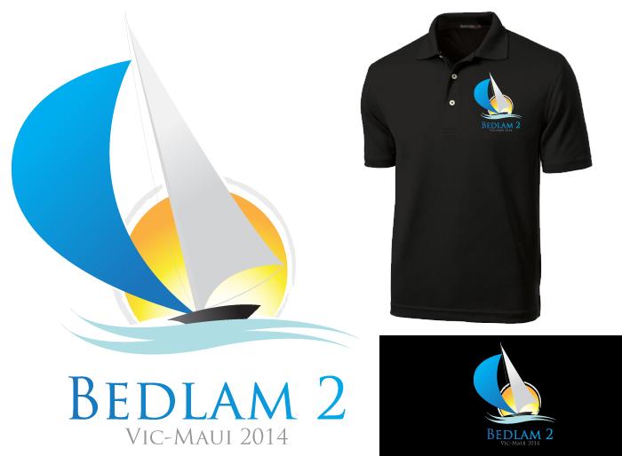 Logo Design by Jan Chua - Entry No. 26 in the Logo Design Contest Artistic Logo Design for Bedlam 2  Vic-Maui 2014.