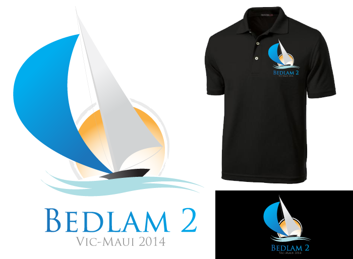 Logo Design by Jan Chua - Entry No. 27 in the Logo Design Contest Artistic Logo Design for Bedlam 2  Vic-Maui 2014.