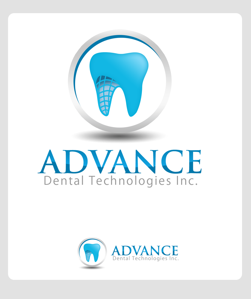 Logo Design by Private User - Entry No. 150 in the Logo Design Contest Fun Logo Design for Advanced Dental Technologies Inc..