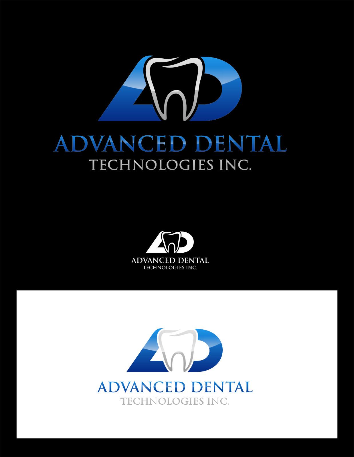 Logo Design by RasYa Muhammad Athaya - Entry No. 155 in the Logo Design Contest Fun Logo Design for Advanced Dental Technologies Inc..