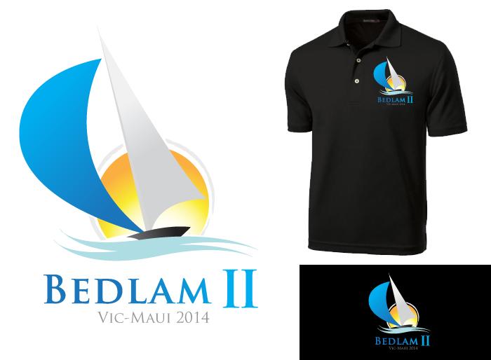 Logo Design by Jan Chua - Entry No. 28 in the Logo Design Contest Artistic Logo Design for Bedlam 2  Vic-Maui 2014.
