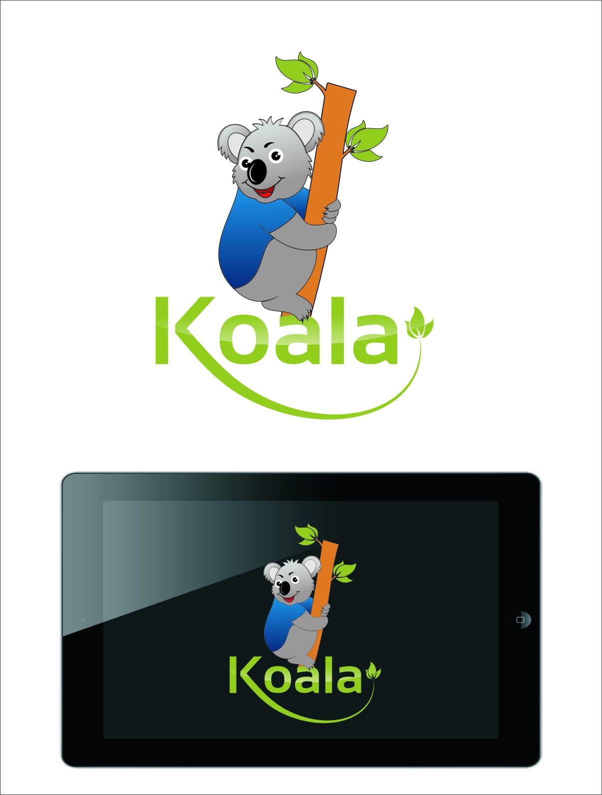 "Logo Design by RasYa Muhammad Athaya - Entry No. 49 in the Logo Design Contest Imaginative Logo Design for ""Koala""."