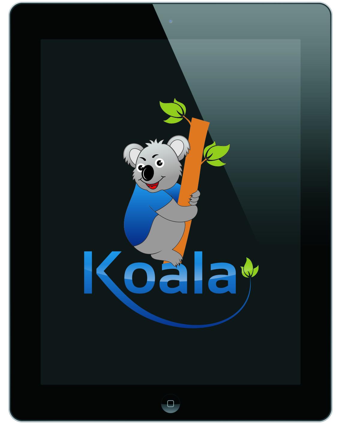 "Logo Design by RasYa Muhammad Athaya - Entry No. 50 in the Logo Design Contest Imaginative Logo Design for ""Koala""."