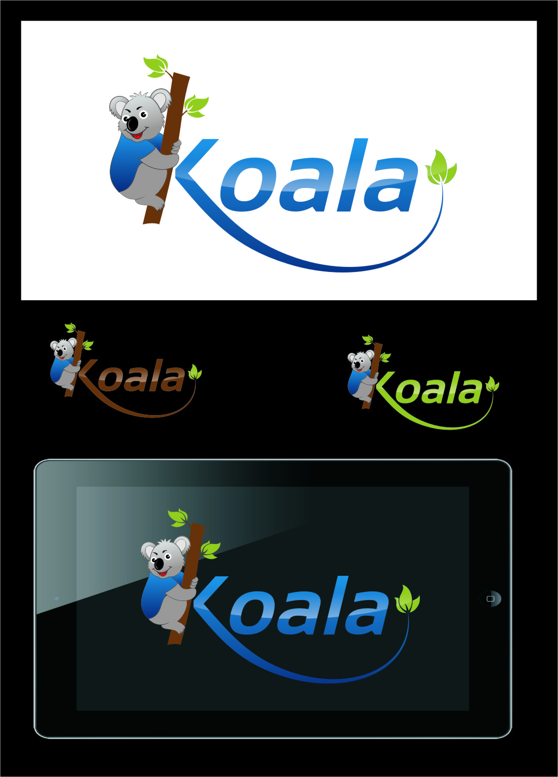 "Logo Design by Ngepet_art - Entry No. 51 in the Logo Design Contest Imaginative Logo Design for ""Koala""."