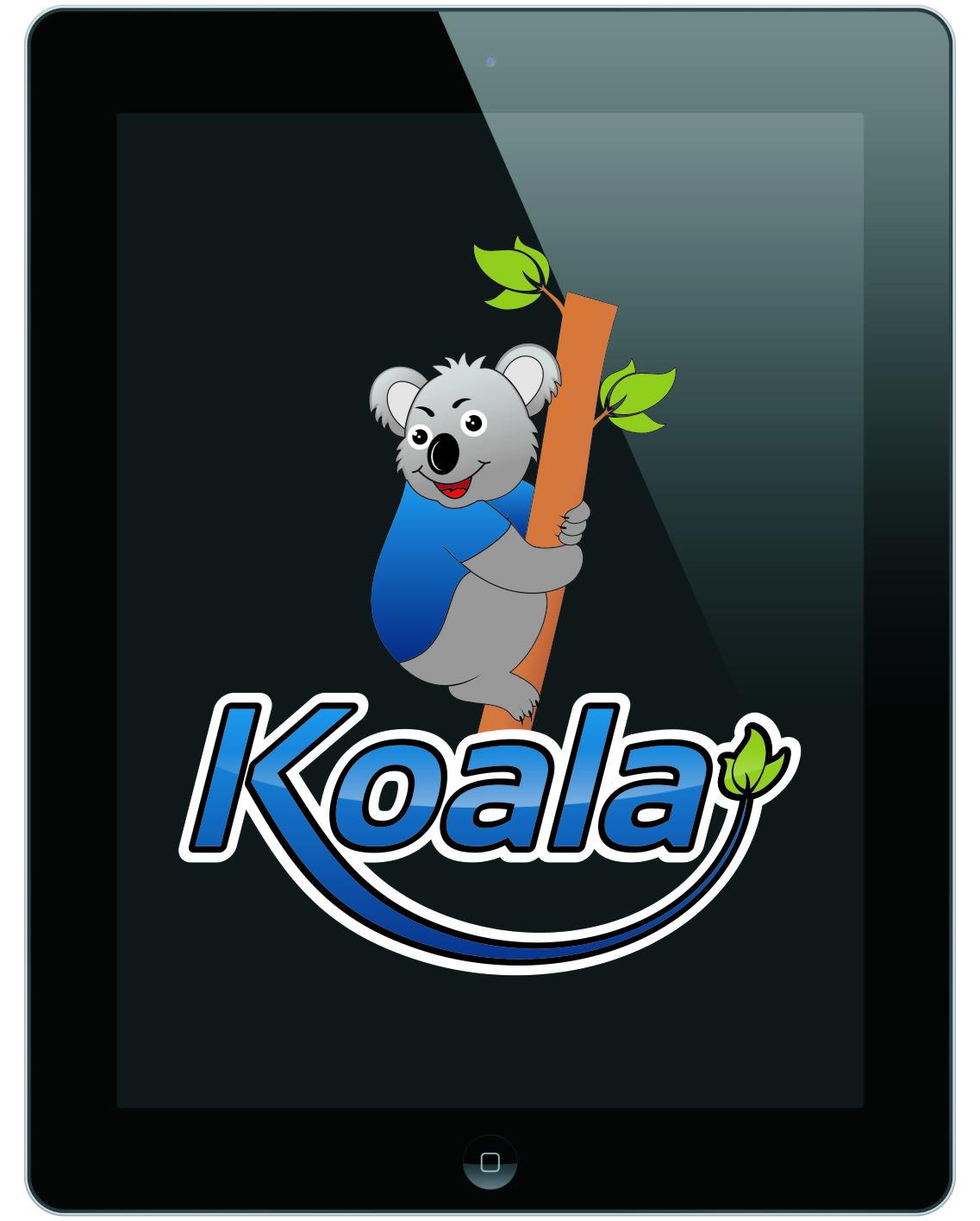 "Logo Design by RasYa Muhammad Athaya - Entry No. 52 in the Logo Design Contest Imaginative Logo Design for ""Koala""."