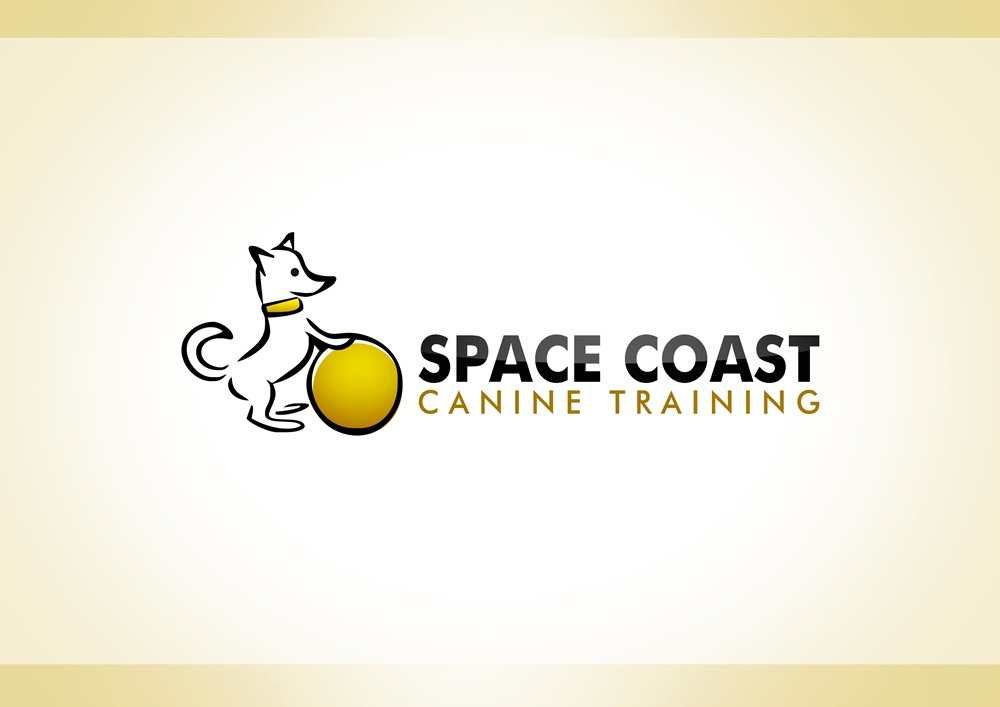 Logo Design by Respati Himawan - Entry No. 23 in the Logo Design Contest Creative Logo Design for Space Coast Canine Training.