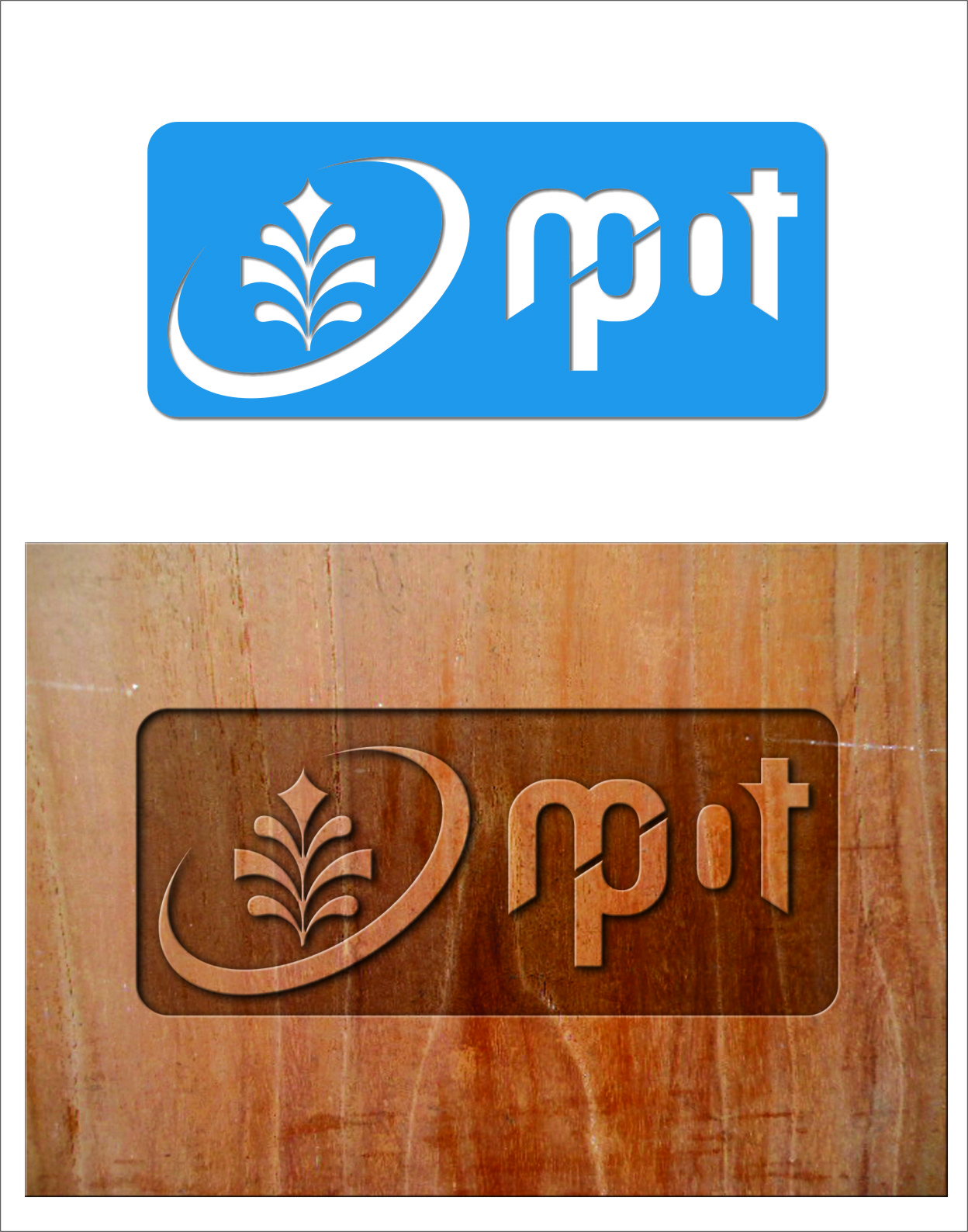 Logo Design by RasYa Muhammad Athaya - Entry No. 206 in the Logo Design Contest Mpot inc  Logo Design.