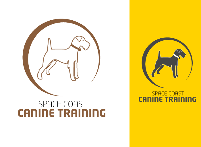 Logo Design by Jan Chua - Entry No. 25 in the Logo Design Contest Creative Logo Design for Space Coast Canine Training.