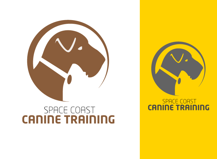 Logo Design by Jan Chua - Entry No. 26 in the Logo Design Contest Creative Logo Design for Space Coast Canine Training.