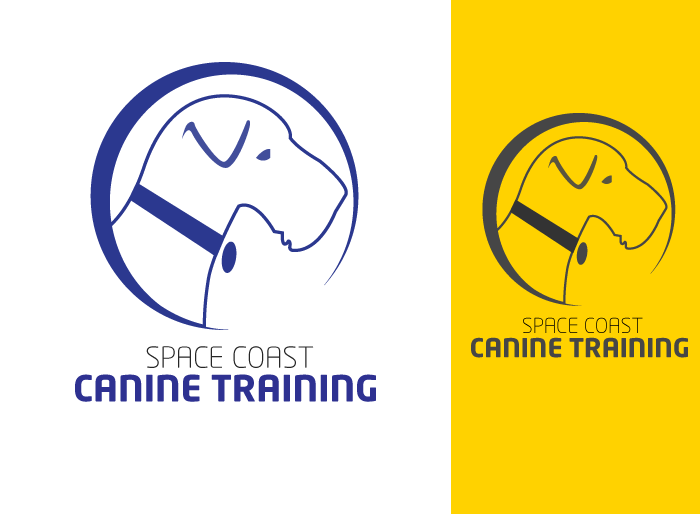 Logo Design by Jan Chua - Entry No. 28 in the Logo Design Contest Creative Logo Design for Space Coast Canine Training.