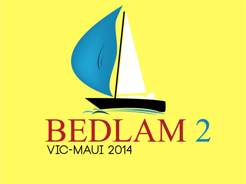 Logo Design by mediaproductionart - Entry No. 29 in the Logo Design Contest Artistic Logo Design for Bedlam 2  Vic-Maui 2014.