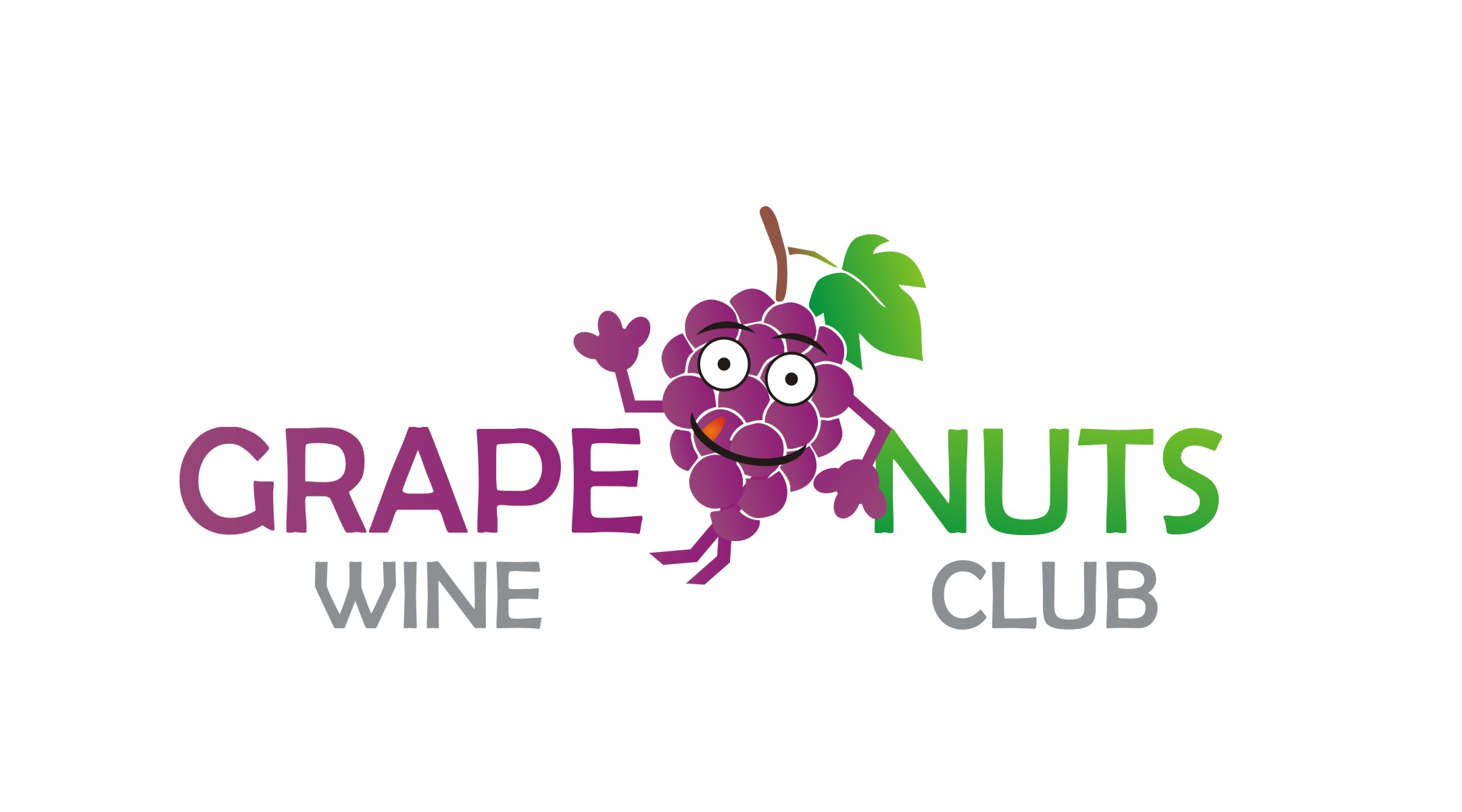 Logo Design by Yuda Hermawan - Entry No. 33 in the Logo Design Contest Artistic Logo Design for Grape Nuts Wine Club.