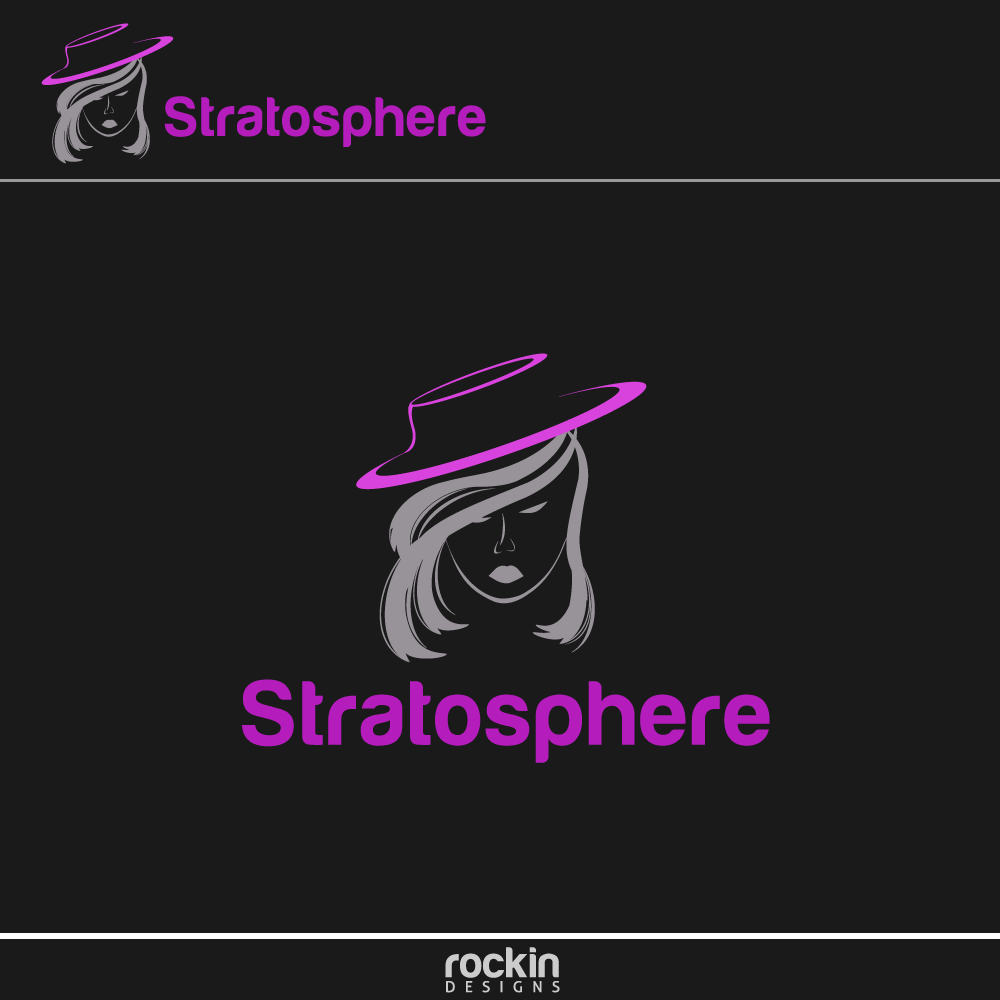 Logo Design by rockin - Entry No. 14 in the Logo Design Contest Captivating Logo Design for Stratosphere.