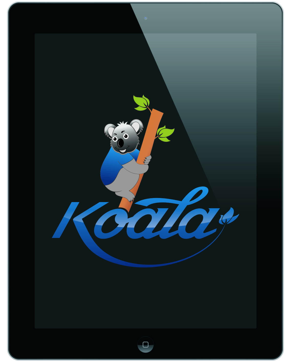 "Logo Design by RasYa Muhammad Athaya - Entry No. 56 in the Logo Design Contest Imaginative Logo Design for ""Koala""."