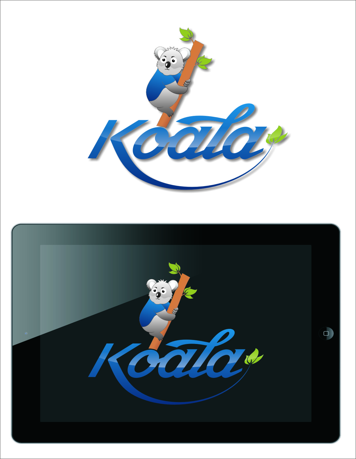 "Logo Design by RoSyid Rono-Rene On Java - Entry No. 59 in the Logo Design Contest Imaginative Logo Design for ""Koala""."