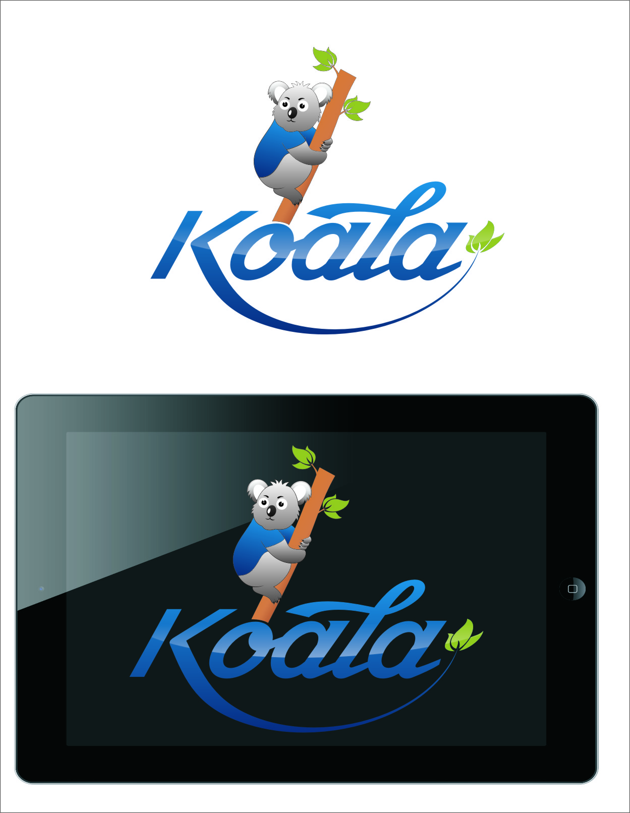 "Logo Design by Ngepet_art - Entry No. 60 in the Logo Design Contest Imaginative Logo Design for ""Koala""."