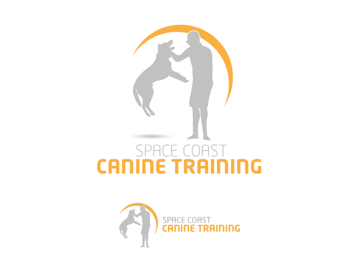 Logo Design by Jan Chua - Entry No. 29 in the Logo Design Contest Creative Logo Design for Space Coast Canine Training.