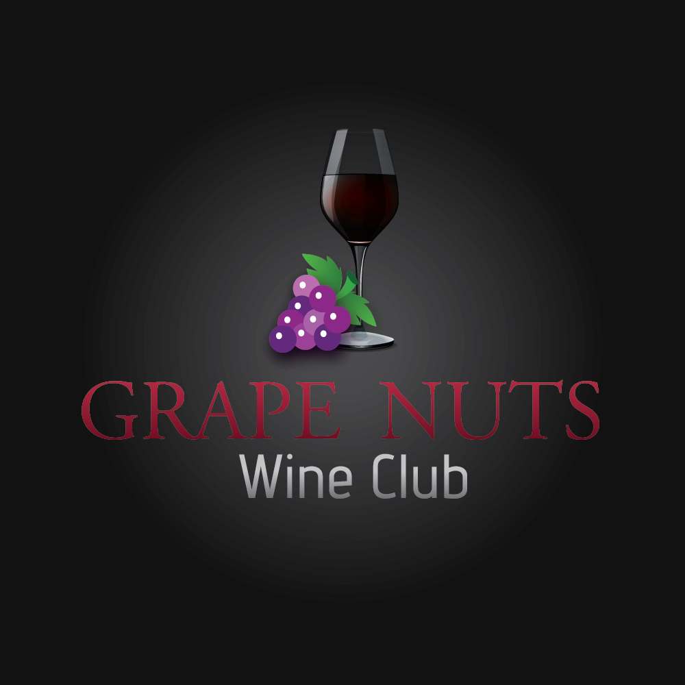 Logo Design by mediaproductionart - Entry No. 38 in the Logo Design Contest Artistic Logo Design for Grape Nuts Wine Club.