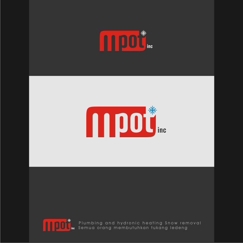 Logo Design by graphicleaf - Entry No. 212 in the Logo Design Contest Mpot inc  Logo Design.