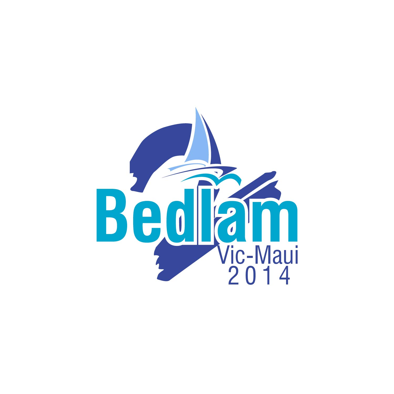 Logo Design by lagalag - Entry No. 31 in the Logo Design Contest Artistic Logo Design for Bedlam 2  Vic-Maui 2014.