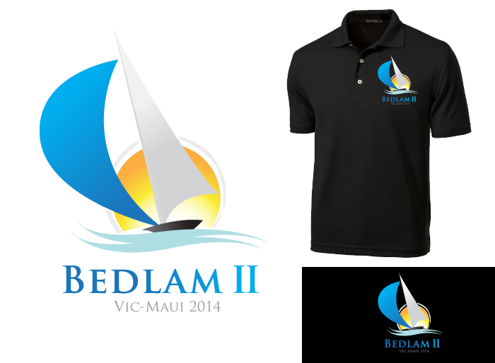 Logo Design by Jan Chua - Entry No. 32 in the Logo Design Contest Artistic Logo Design for Bedlam 2  Vic-Maui 2014.
