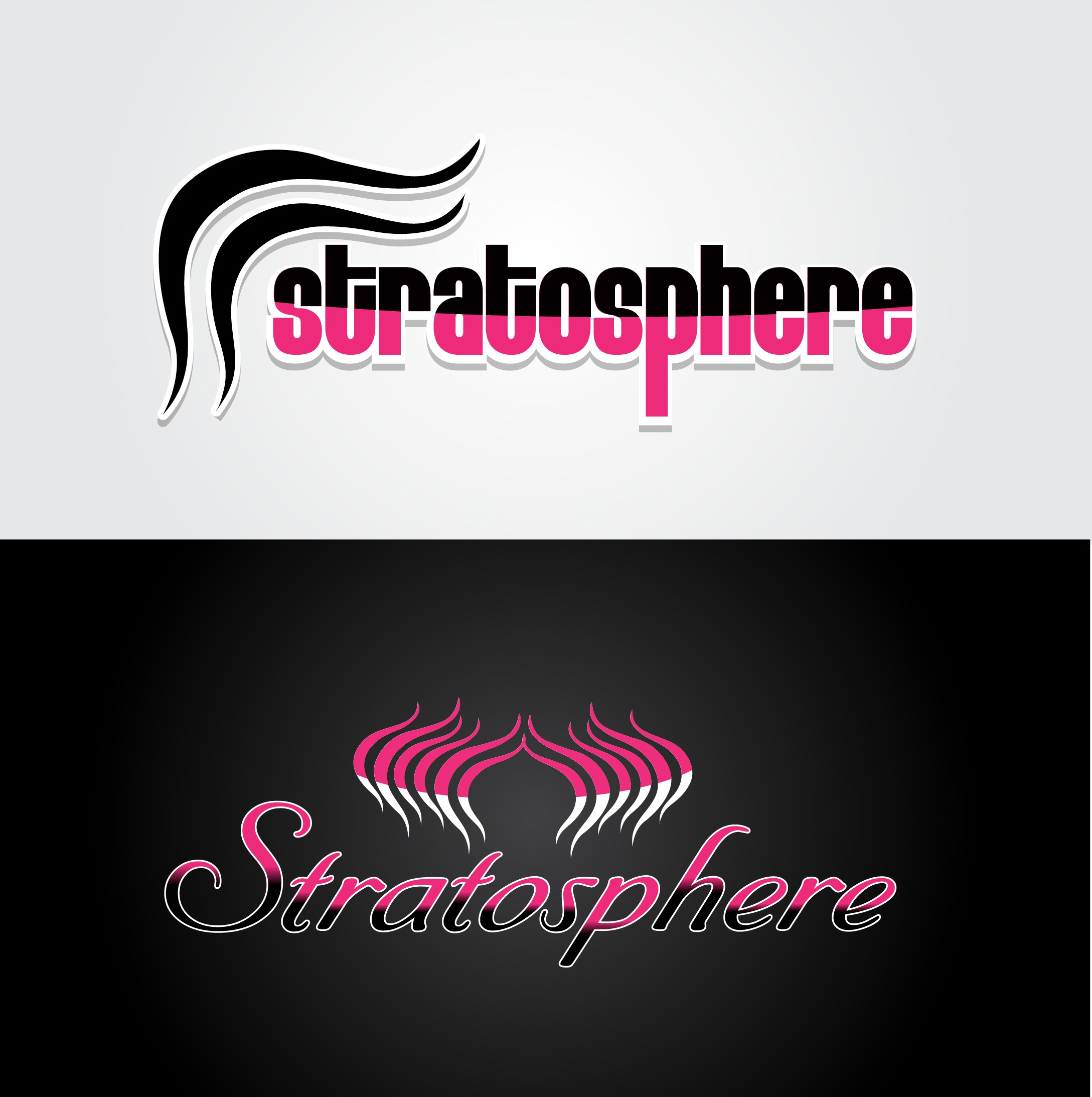Logo Design by mediaproductionart - Entry No. 17 in the Logo Design Contest Captivating Logo Design for Stratosphere.