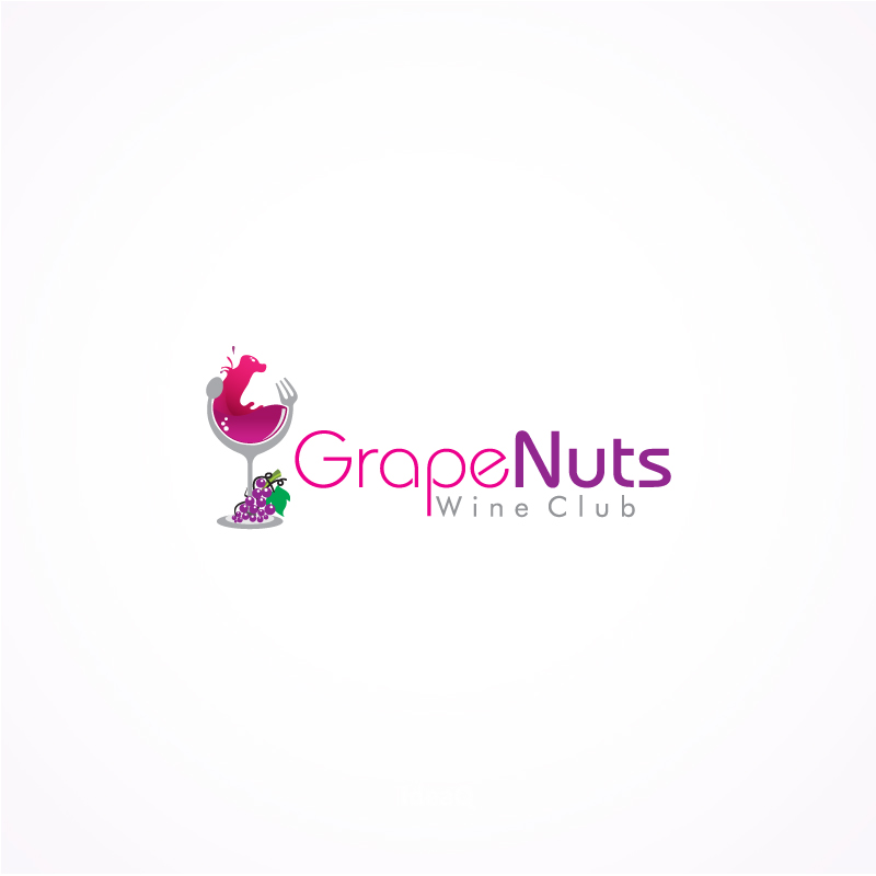 Logo Design by Private User - Entry No. 42 in the Logo Design Contest Artistic Logo Design for Grape Nuts Wine Club.