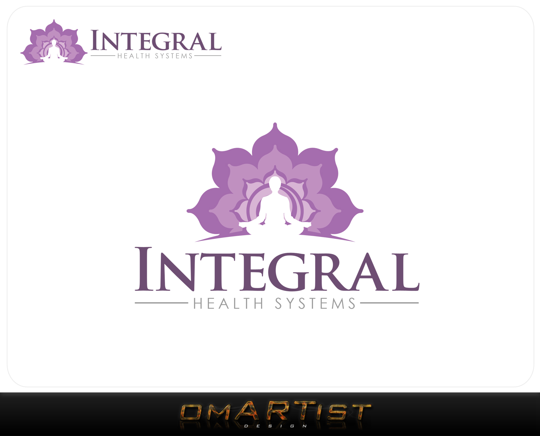 Logo Design by omARTist - Entry No. 66 in the Logo Design Contest Unique Logo Design Wanted for Integral Health Systems.