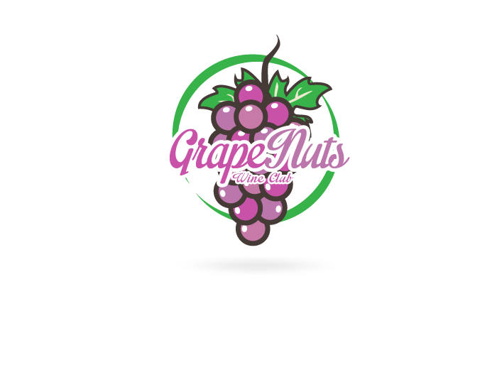 Logo Design by Jan Chua - Entry No. 46 in the Logo Design Contest Artistic Logo Design for Grape Nuts Wine Club.