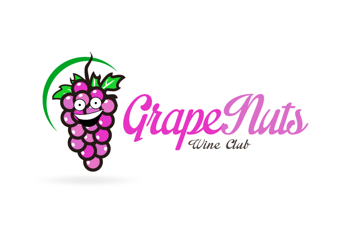 Logo Design by Jan Chua - Entry No. 50 in the Logo Design Contest Artistic Logo Design for Grape Nuts Wine Club.
