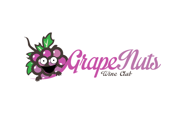 Logo Design by Jan Chua - Entry No. 51 in the Logo Design Contest Artistic Logo Design for Grape Nuts Wine Club.