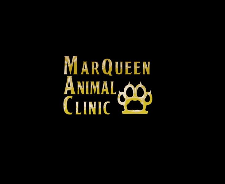 Logo Design by Juan_Kata - Entry No. 6 in the Logo Design Contest Fun Logo Design for MarQueen Animal Clinic.