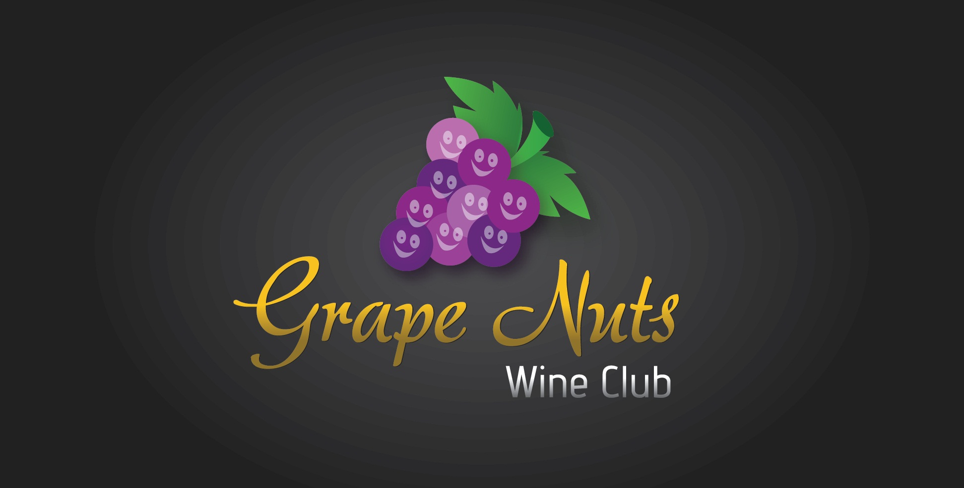Logo Design by mediaproductionart - Entry No. 56 in the Logo Design Contest Artistic Logo Design for Grape Nuts Wine Club.