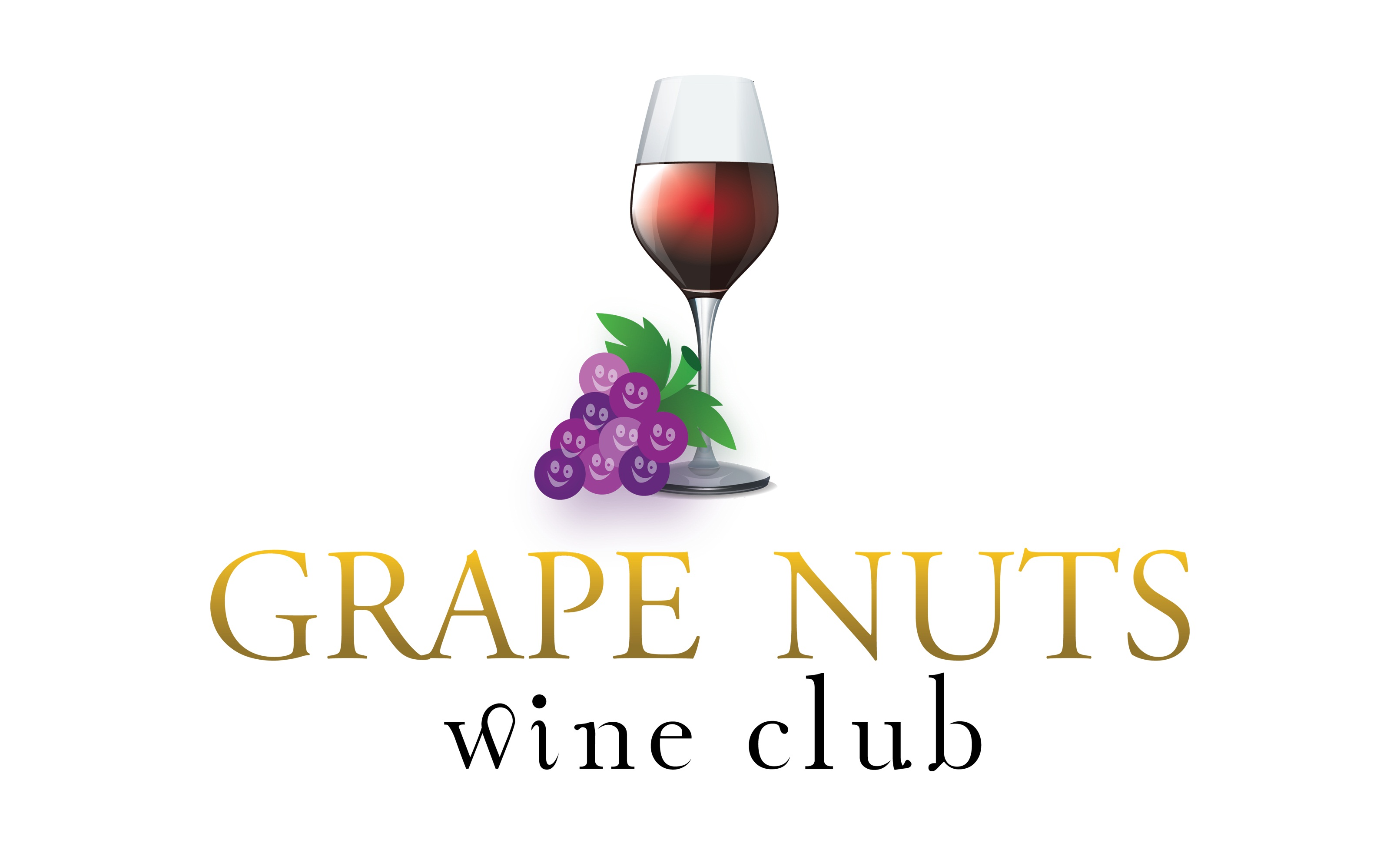 Logo Design by mediaproductionart - Entry No. 57 in the Logo Design Contest Artistic Logo Design for Grape Nuts Wine Club.