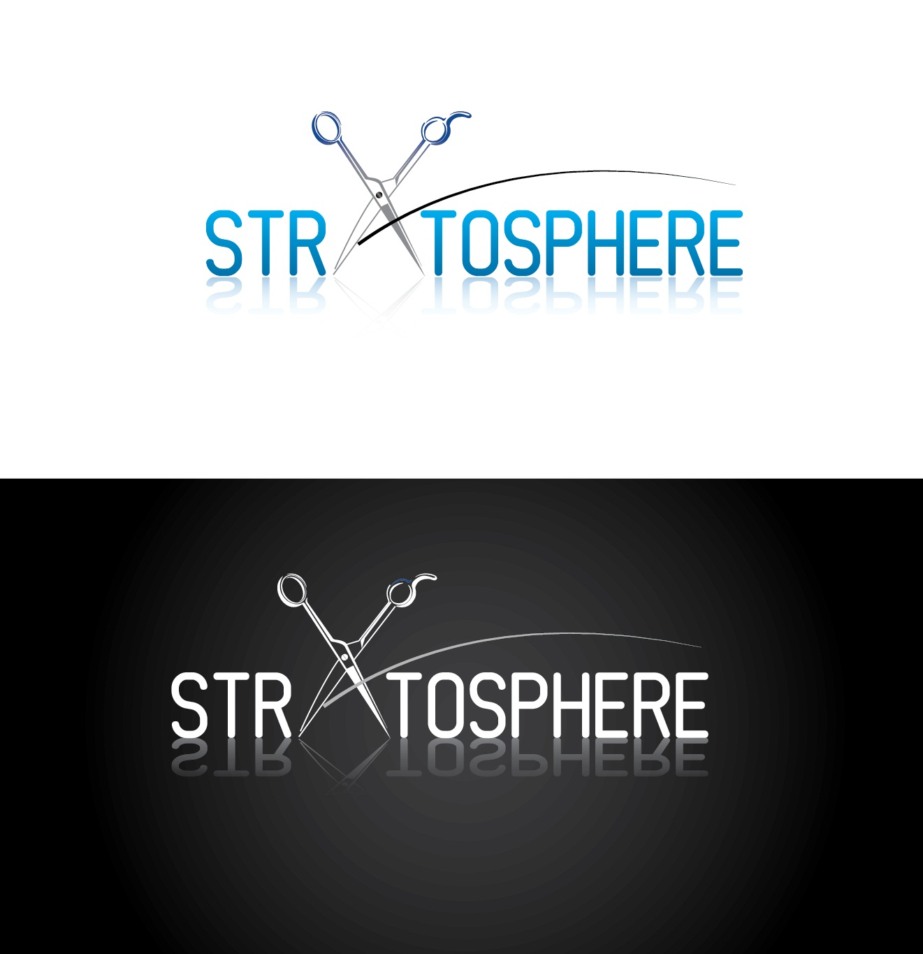 Logo Design by mediaproductionart - Entry No. 18 in the Logo Design Contest Captivating Logo Design for Stratosphere.