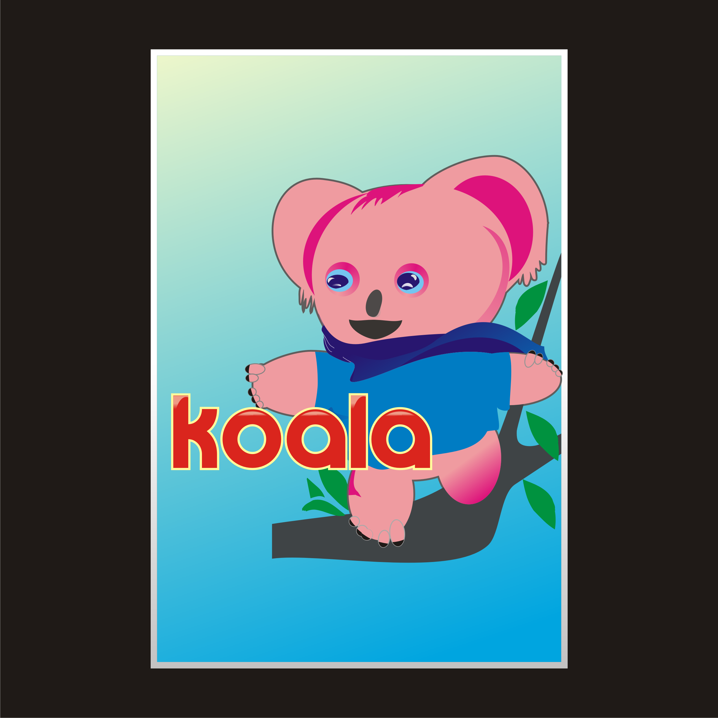 "Logo Design by Private User - Entry No. 67 in the Logo Design Contest Imaginative Logo Design for ""Koala""."