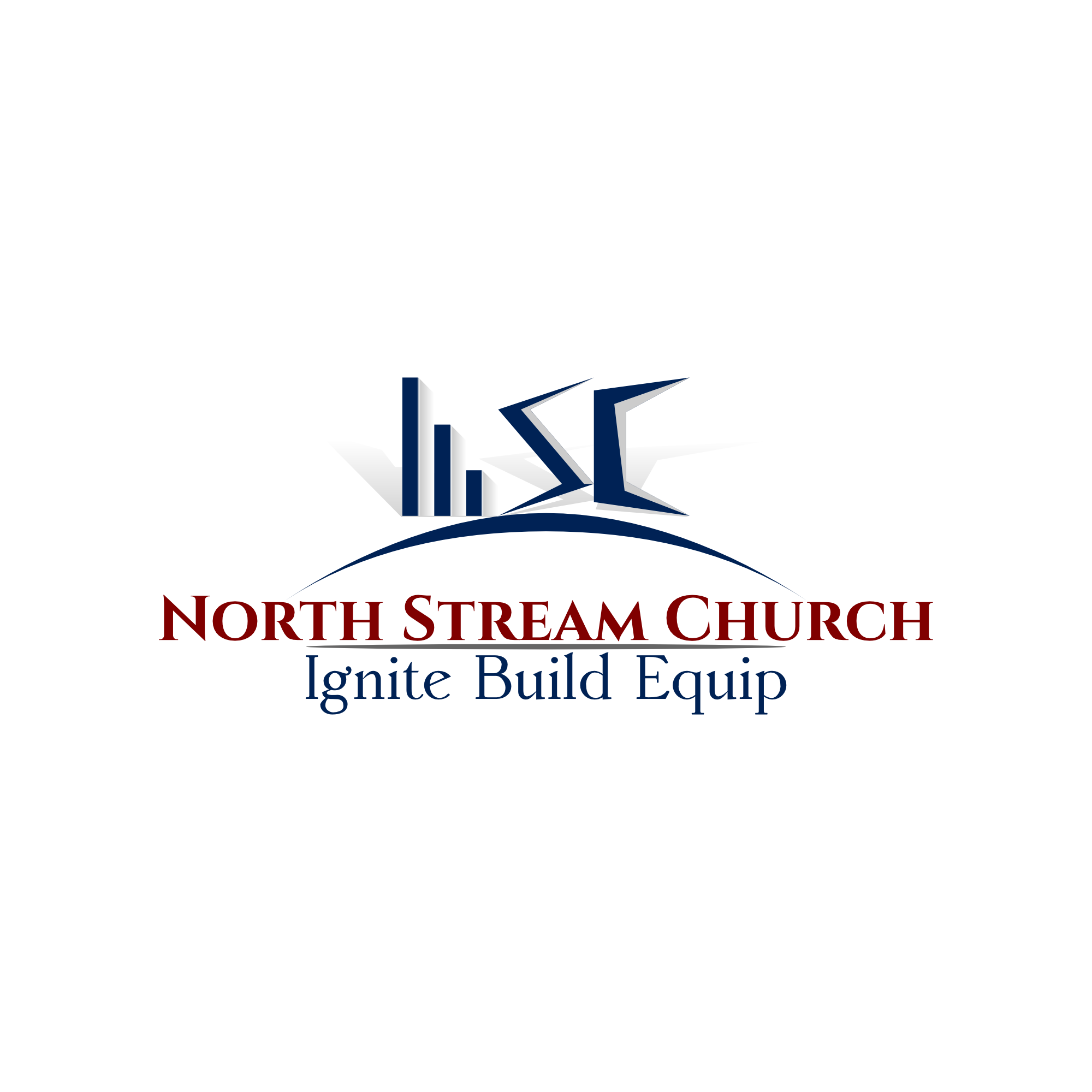 Logo Design by mmasic - Entry No. 7 in the Logo Design Contest Creative Logo Design for North Stream Church.