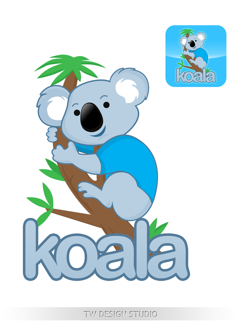 "Logo Design by Private User - Entry No. 69 in the Logo Design Contest Imaginative Logo Design for ""Koala""."