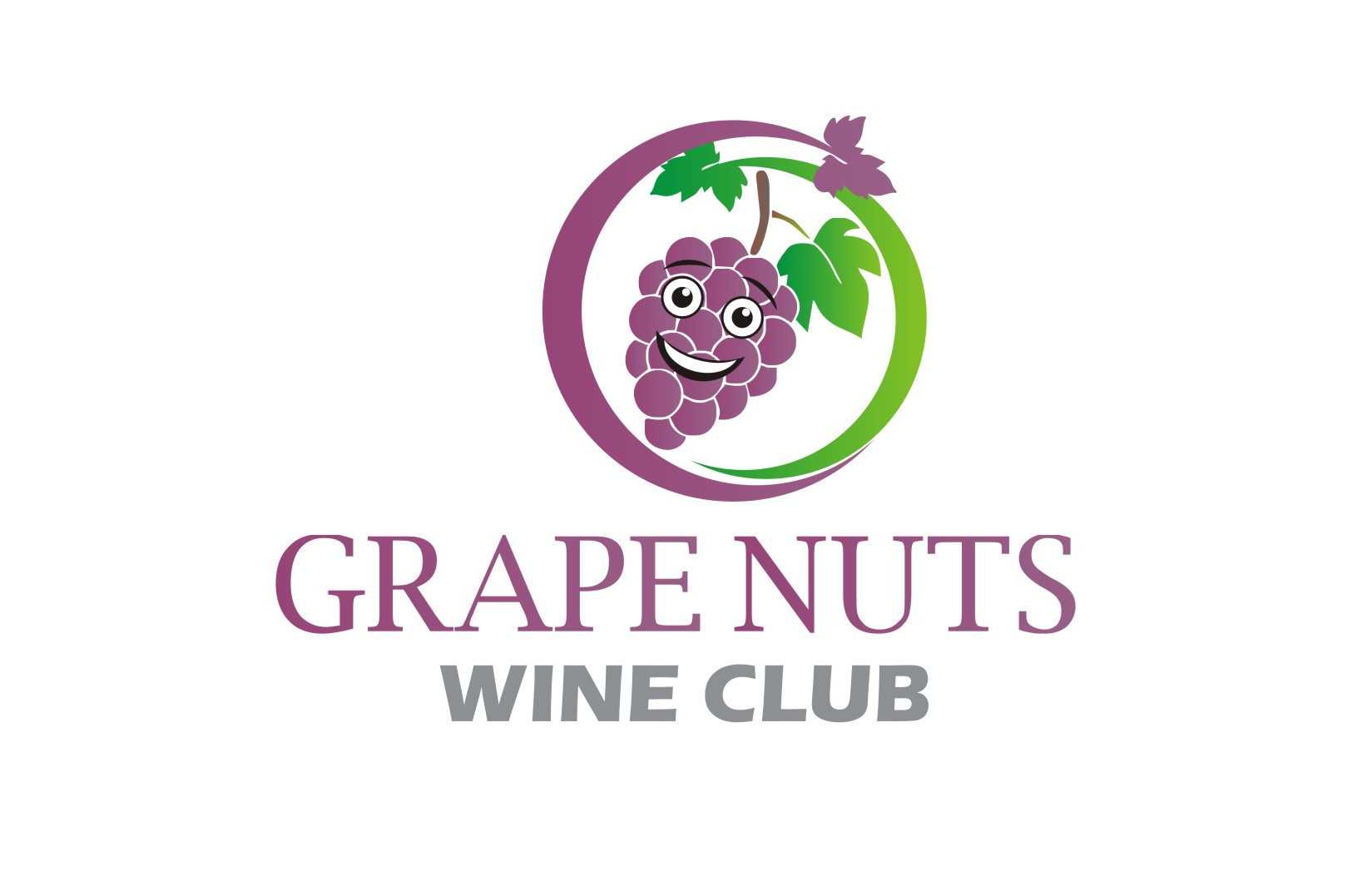 Logo Design by Yuda Hermawan - Entry No. 67 in the Logo Design Contest Artistic Logo Design for Grape Nuts Wine Club.