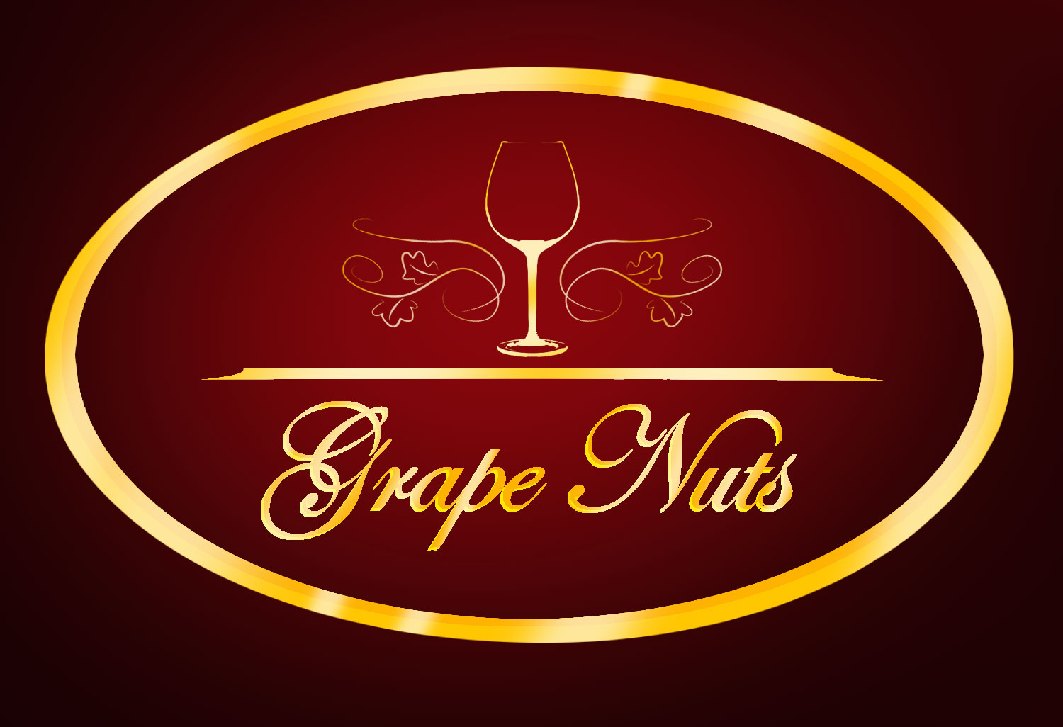 Logo Design by Vem Johnmar Pato - Entry No. 68 in the Logo Design Contest Artistic Logo Design for Grape Nuts Wine Club.